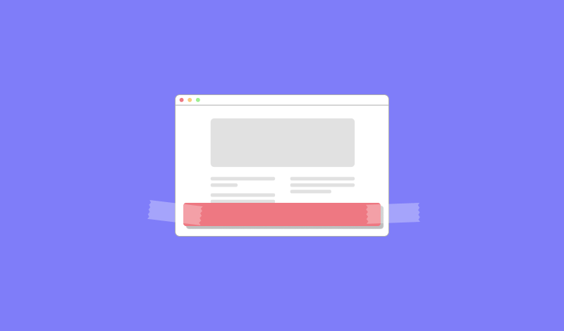 How to Create a Sticky Floating Bar in WordPress